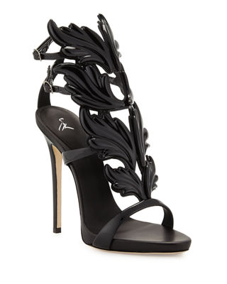 Women'S Cruel Coline Wing Embellished High-Heel Sandals, Nero