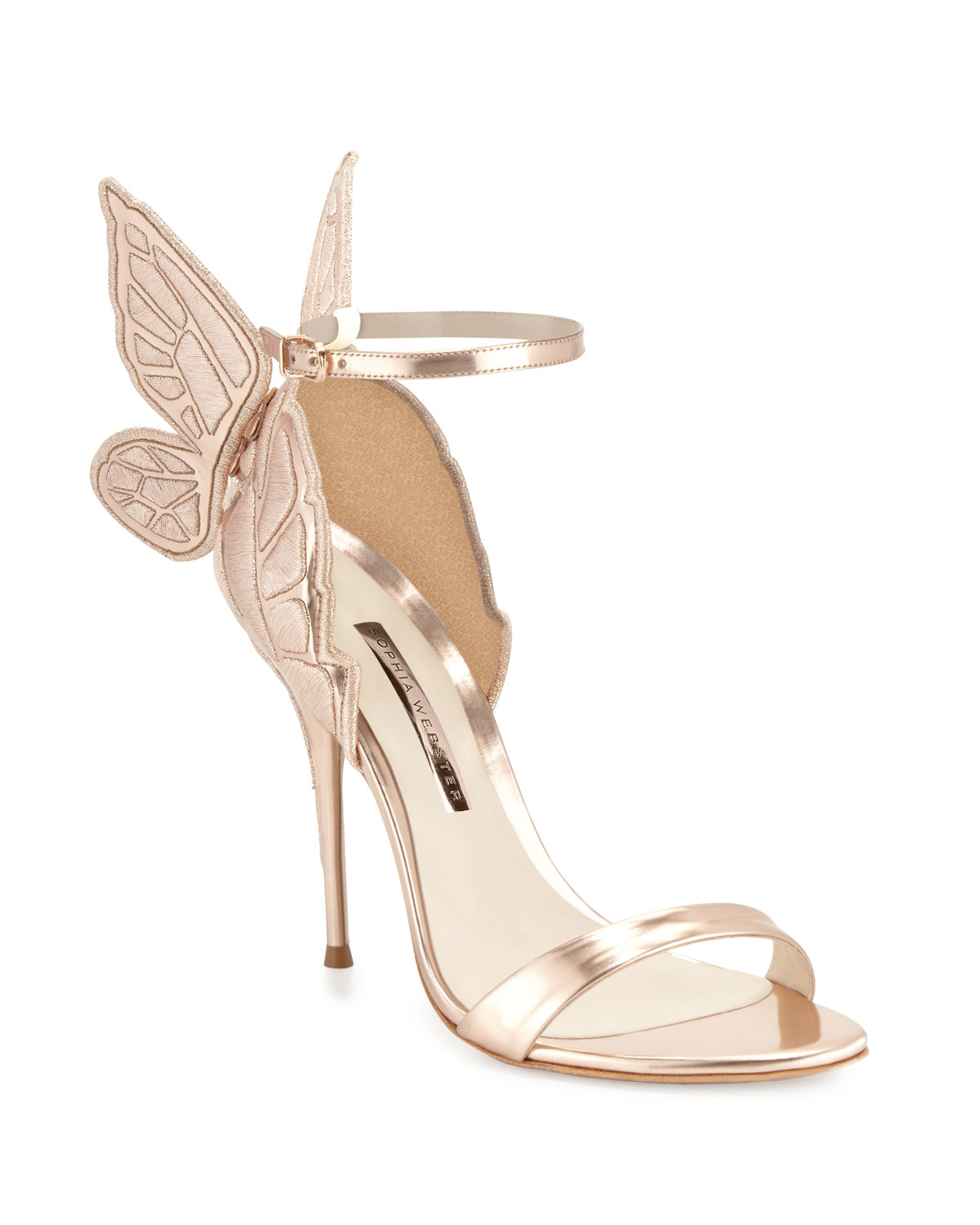 e1d54b28339 Sophia Webster Chiara Butterfly Wing Ankle-Wrap Sandals