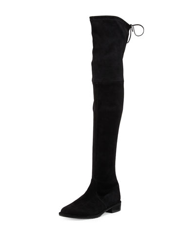 0ca8995c245 Stuart Weitzman Lowland Suede Over-The-Knee Boot