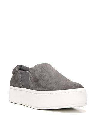 Vince Warren Leather Platform Skate Sneakers