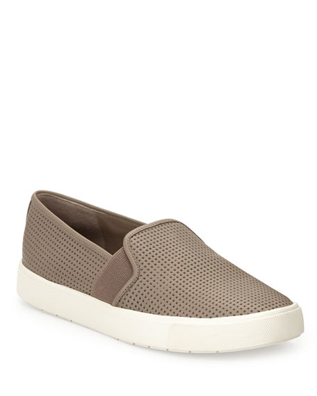 Vince Blair 5 Perforated Slip-On Sneakers
