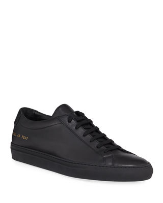 Image 1 of 3: Achilles Leather Low-Top Sneaker