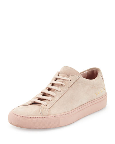 Achilles Suede Low-Top Sneaker