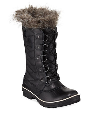 Sorel Tofino?? II Fur-Trim Quilted Boot