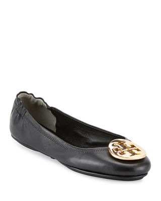 Image 1 of 6: Minnie Travel Logo Ballerina Flat