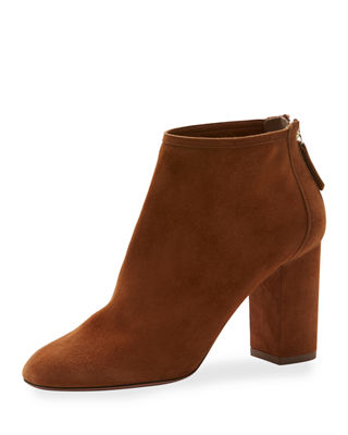 Image 1 of 4: Downtown Suede 85mm Bootie
