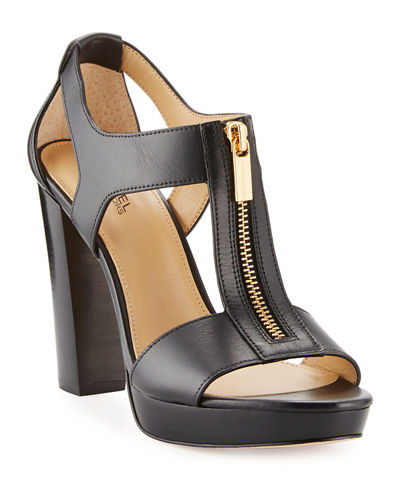 Berkley Leather Zip Sandal
