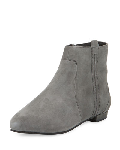 Delman Wiley Suede Ankle Boot