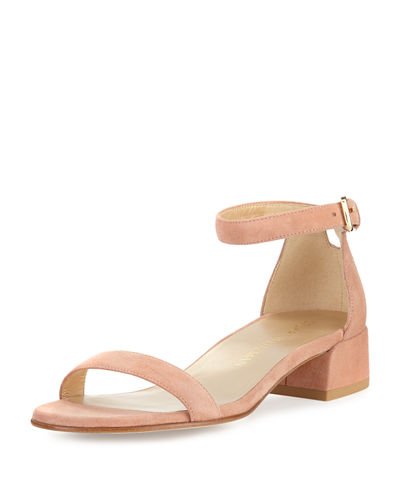 Nudistjune Patent Low City Sandal