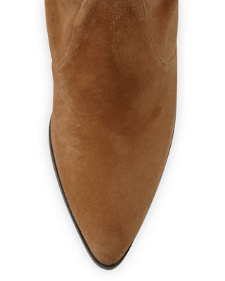Image 3 of 4: Highstreet Suede Over-the-Knee Boot