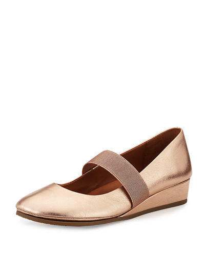 Gentle Souls Aria Demi-Wedge Mary Jane Pump