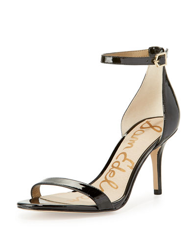 Patti Patent Naked Sandals