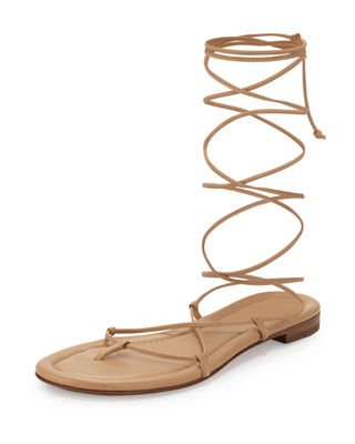 Michael Kors Bradshaw Lace-Up Gladiator Sandal