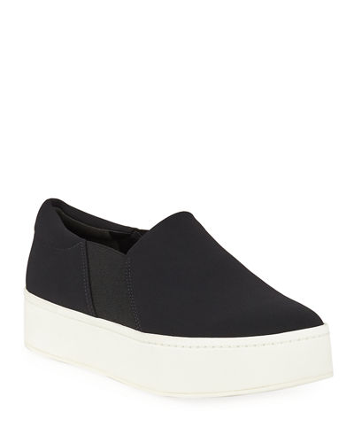 Warren Micro-Stretch Platform Sneakers