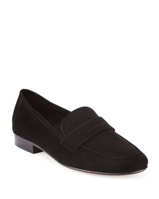 Classic Flat Suede Loafer