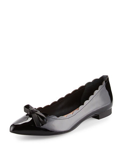 eleni flex scalloped ballerina flat