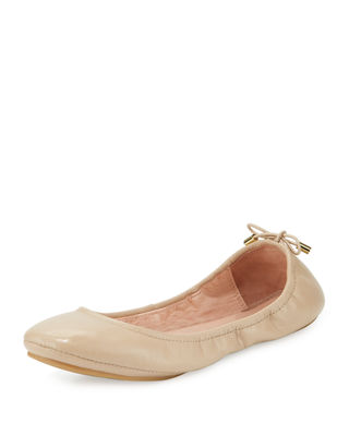 Image 1 of 4: globe packable ballerina flat
