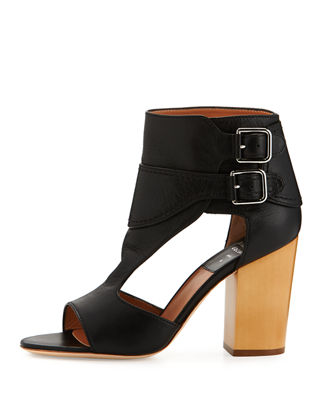 Image 2 of 4: Rush Cutout Buckle Sandal