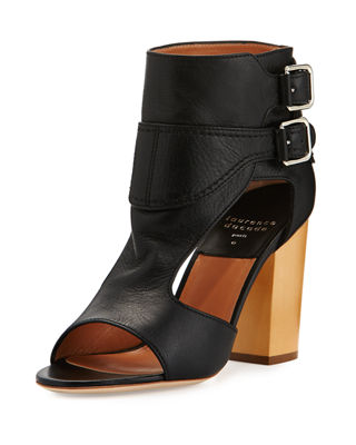 Image 1 of 4: Rush Cutout Buckle Sandal