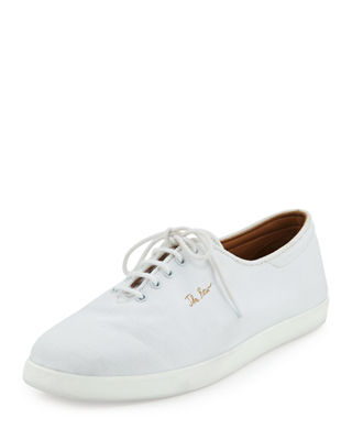 Dean Canvas Tennis Shoes by The Row