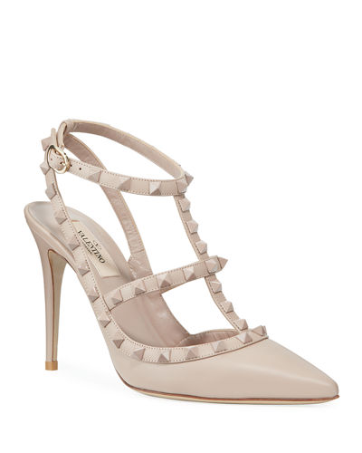 Valentino Garavani Rockstud Leather 100mm Pump