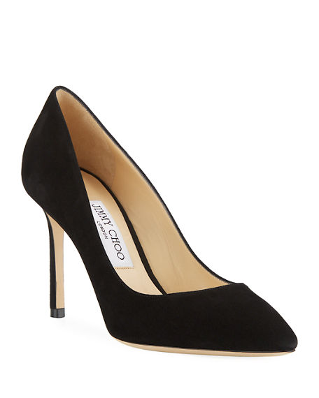 Jimmy Choo Romy Suede 85mm Pump