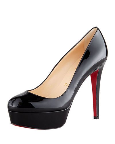 Christian Louboutin Bianca Patent Leather Platform Red Sole