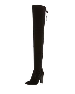 Alllegs Ultrastretch Velvet Over-the-Knee Boot