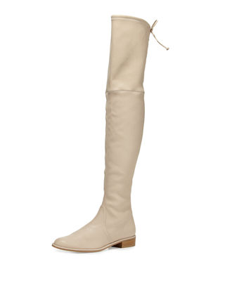 Image 1 of 4: Lowland Leather Over-the-Knee Boot