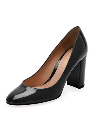 Patent Chunky-Heel 85mm Pump