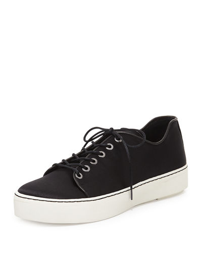 Holistic Satin Low-Top Sneaker