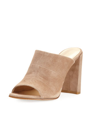 Image 1 of 5: SEQUEL SUEDE MULE