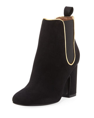 Image 1 of 4: Gored Suede 70mm Bootie