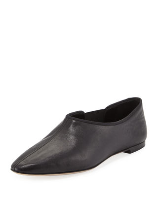 Image 1 of 3: Cara Gored Leather Slip-On