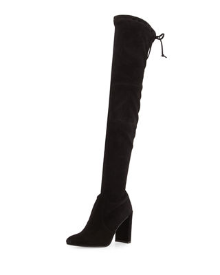 Stuart Weitzman Highchamp Suede Over-the-Knee Boot