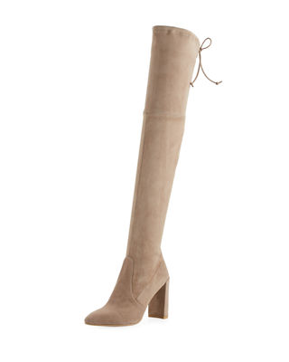 Highchamp Suede Over-the-Knee Boot