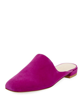 Image 1 of 3: Mulearky Suede Flat Mule
