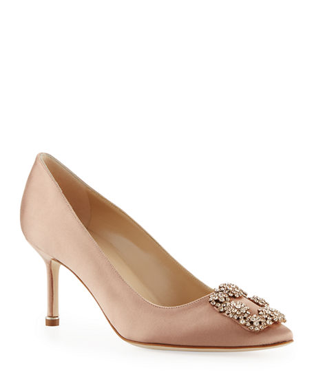 Manolo Blahnik Hangisi 70mm Pump
