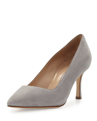 Image 1 of 3: BB Suede 70mm Pump