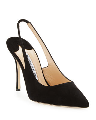 Image 1 of 3: Allura 105 mm Suede Slingback Pump