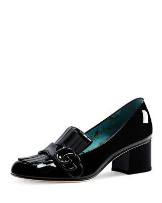 Marmont Patent Loafer Pump