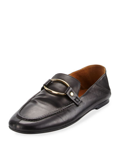 Isabel Marant Ferlyn Convertible Calf Leather Loafer