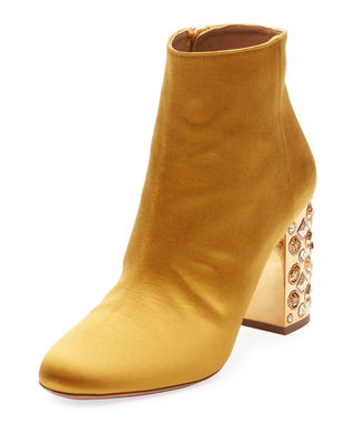 Image 1 of 4: Party Silk Embellished 85mm Bootie