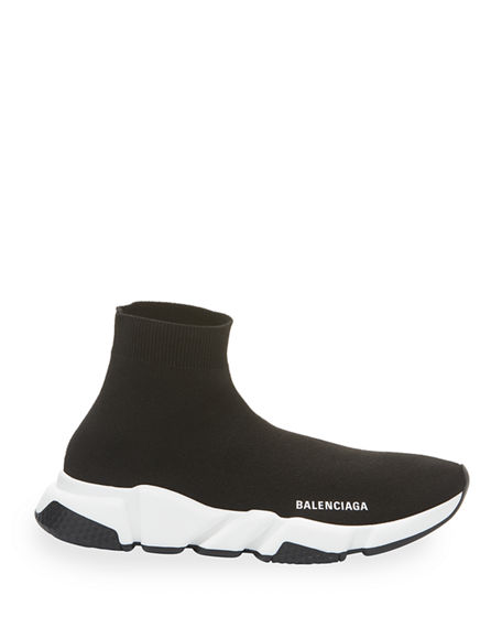 Image 2 of 3: Balenciaga Speed Stretch-Knit High-Top Trainer