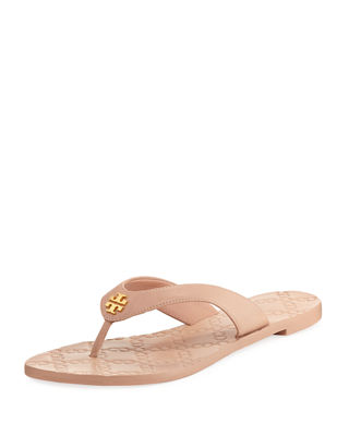 Tory Burch Monroe Leather Thong Sandals