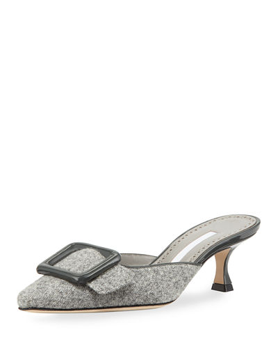Maysale Tweed 50mm Mule