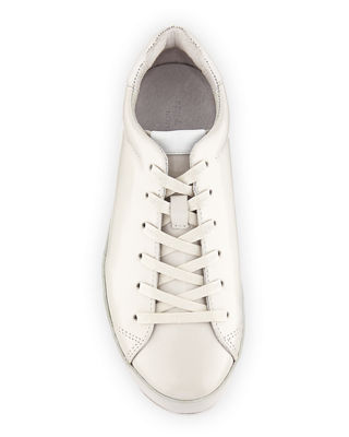 Image 3 of 4: RB1 Spazzolato Low-Top Sneaker with Leather-Wrapped Sole