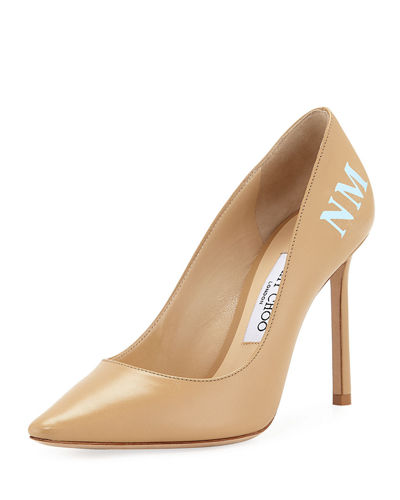 Romy Leather 100mm Pump