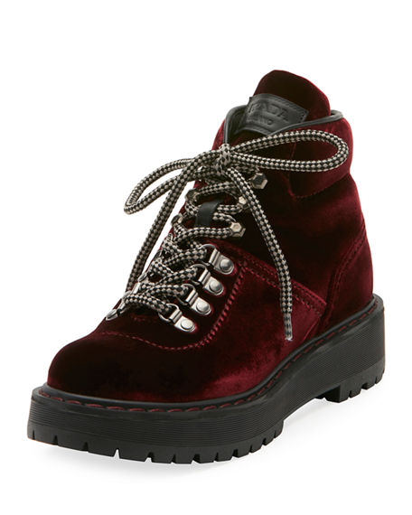 Prada Velvet Lace Ups With Paypal Cheap Price Ost Release Dates Excellent Sale Online G3rafpYmY
