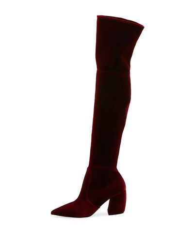 Prada Stretch Over-The-Knee Boot